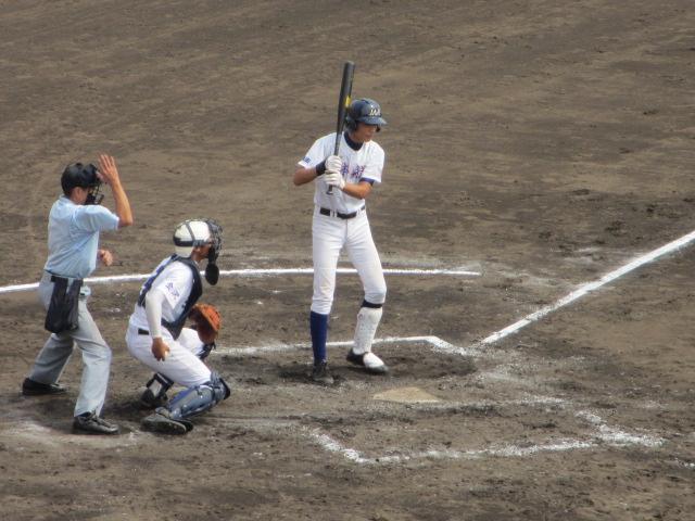 北信越高校野球石川県大会 三回戦 航空vs市工 162