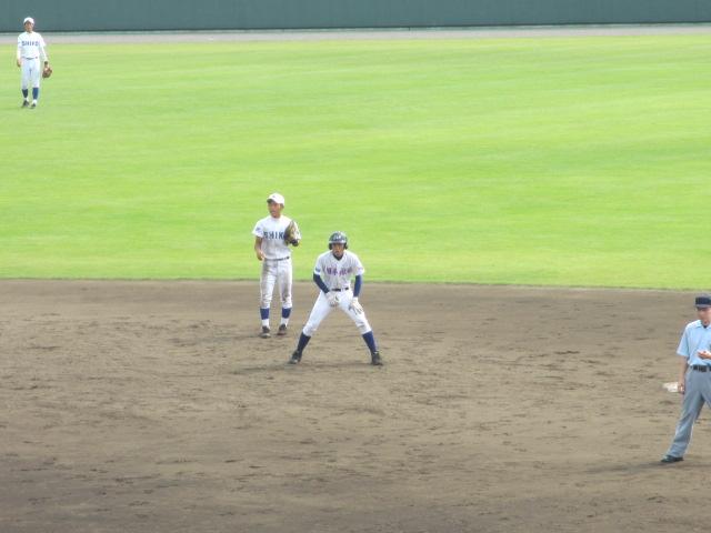北信越高校野球石川県大会 三回戦 航空vs市工 161