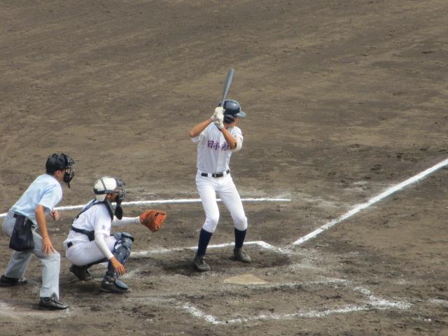 北信越高校野球石川県大会 三回戦 航空vs市工 165