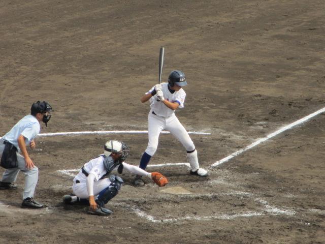 北信越高校野球石川県大会 三回戦 航空vs市工 163
