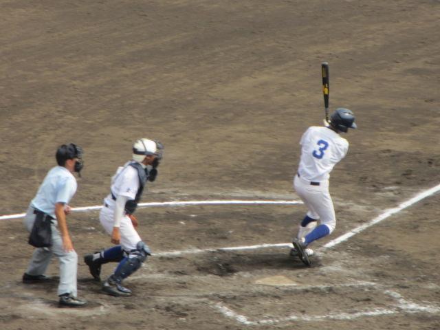 北信越高校野球石川県大会 三回戦 航空vs市工 164
