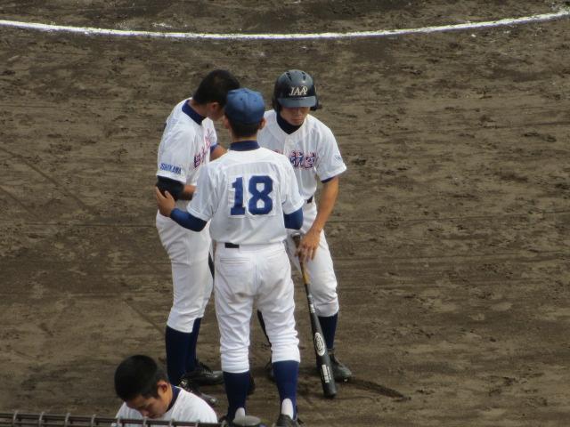北信越高校野球石川県大会 三回戦 航空vs市工 169