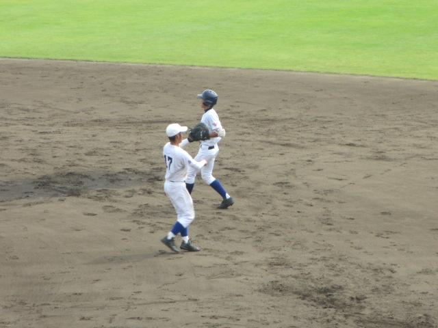 北信越高校野球石川県大会 三回戦 航空vs市工 168