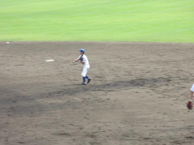 北信越高校野球石川県大会 三回戦 航空vs市工 174