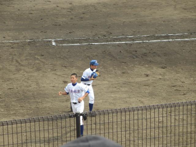 北信越高校野球石川県大会 三回戦 航空vs市工 181