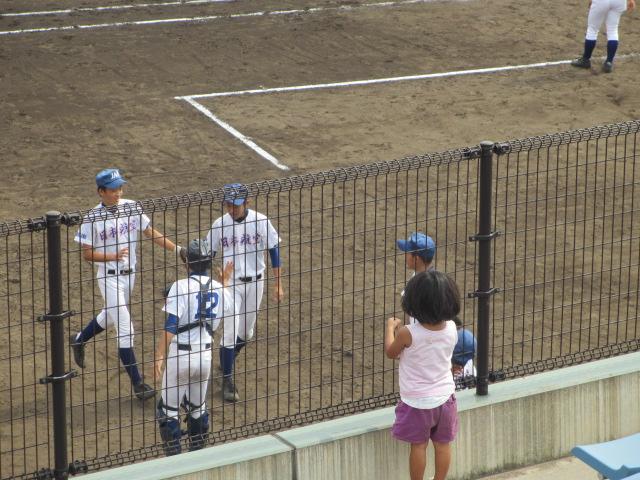 北信越高校野球石川県大会 三回戦 航空vs市工 180
