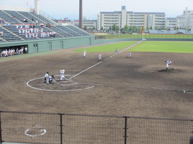 北信越高校野球石川県大会 三回戦 航空vs市工 179