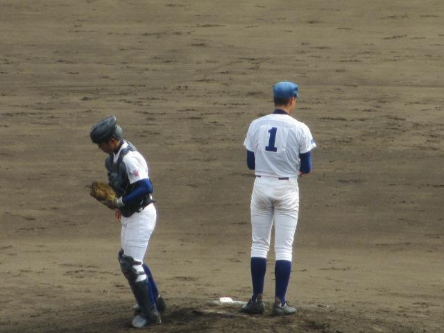 北信越高校野球石川県大会 三回戦 航空vs市工 178