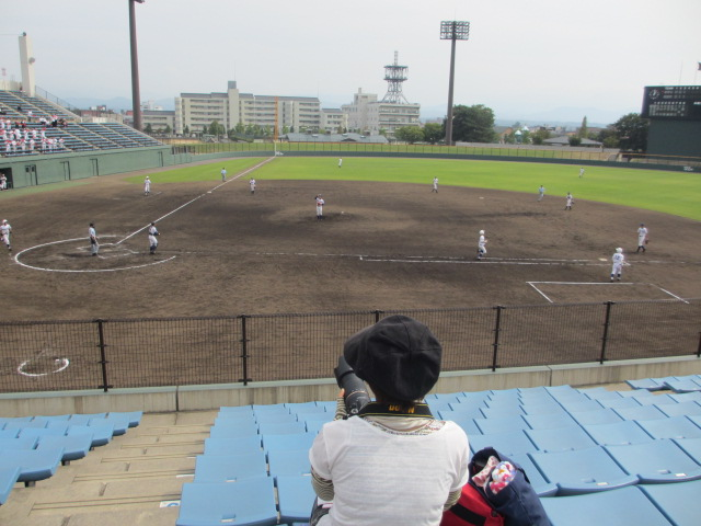 北信越高校野球石川県大会 三回戦 航空vs市工 177