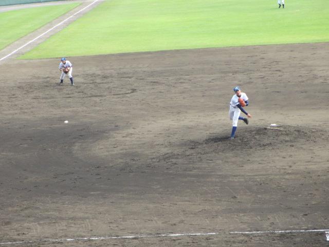北信越高校野球石川県大会 三回戦 航空vs市工 176