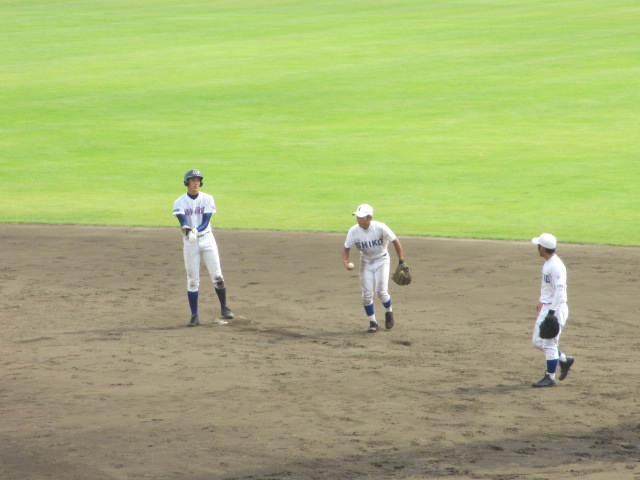 北信越高校野球石川県大会 三回戦 航空vs市工 187
