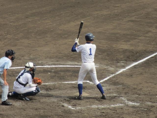 北信越高校野球石川県大会 三回戦 航空vs市工 185
