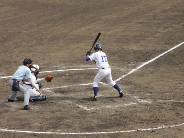北信越高校野球石川県大会 三回戦 航空vs市工 183