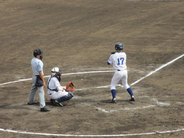 北信越高校野球石川県大会 三回戦 航空vs市工 182