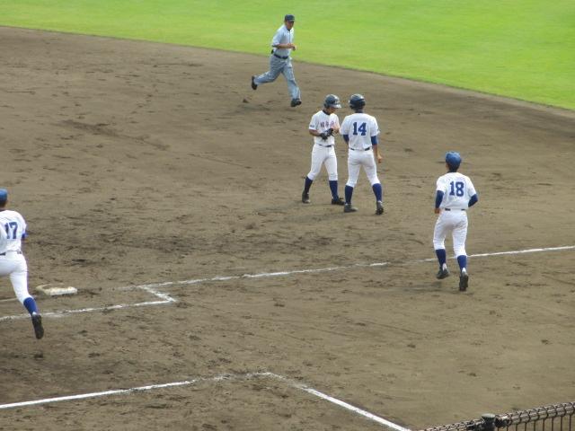 北信越高校野球石川県大会 三回戦 航空vs市工 193