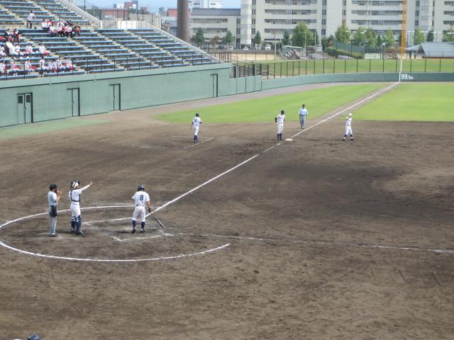 北信越高校野球石川県大会 三回戦 航空vs市工 190
