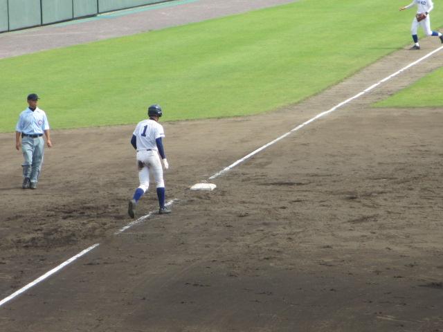 北信越高校野球石川県大会 三回戦 航空vs市工 189