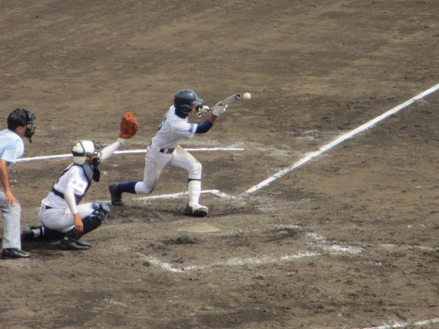 北信越高校野球石川県大会 三回戦 航空vs市工 188