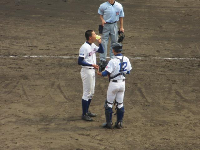 北信越高校野球石川県大会 三回戦 航空vs市工 194