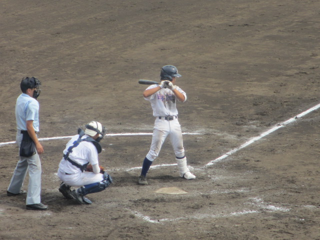 北信越高校野球石川県大会 三回戦 航空vs市工 205