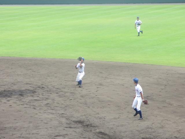北信越高校野球石川県大会 三回戦 航空vs市工 200