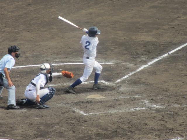 北信越高校野球石川県大会 三回戦 航空vs市工 209