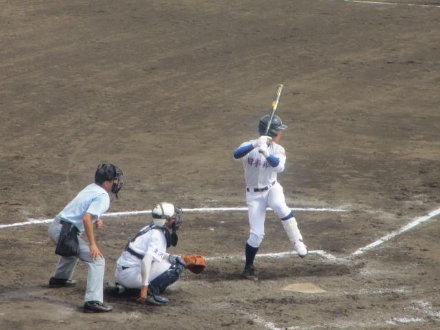 北信越高校野球石川県大会 三回戦 航空vs市工 207