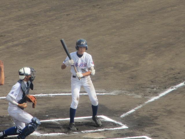 北信越高校野球石川県大会 三回戦 航空vs市工 223