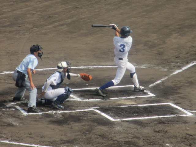 北信越高校野球石川県大会 三回戦 航空vs市工 220