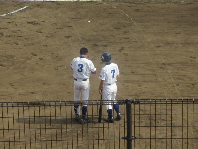 北信越高校野球石川県大会 三回戦 航空vs市工 219