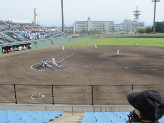 北信越高校野球石川県大会 三回戦 航空vs市工 217