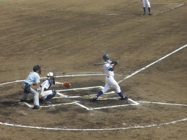 北信越高校野球石川県大会 三回戦 航空vs市工 228