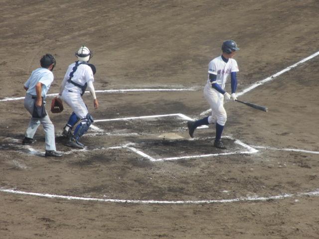 北信越高校野球石川県大会 三回戦 航空vs市工 236