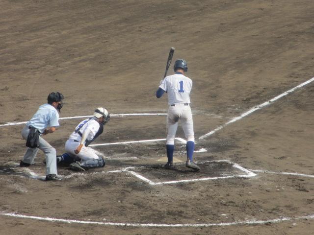 北信越高校野球石川県大会 三回戦 航空vs市工 234
