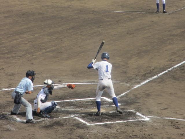 北信越高校野球石川県大会 三回戦 航空vs市工 235