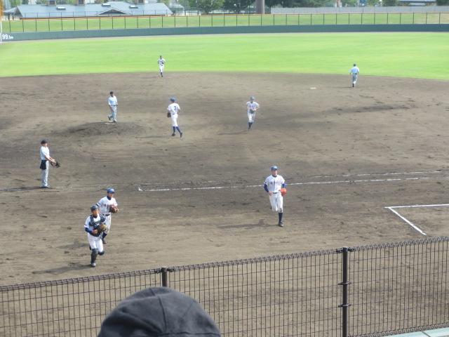 北信越高校野球石川県大会 三回戦 航空vs市工 233