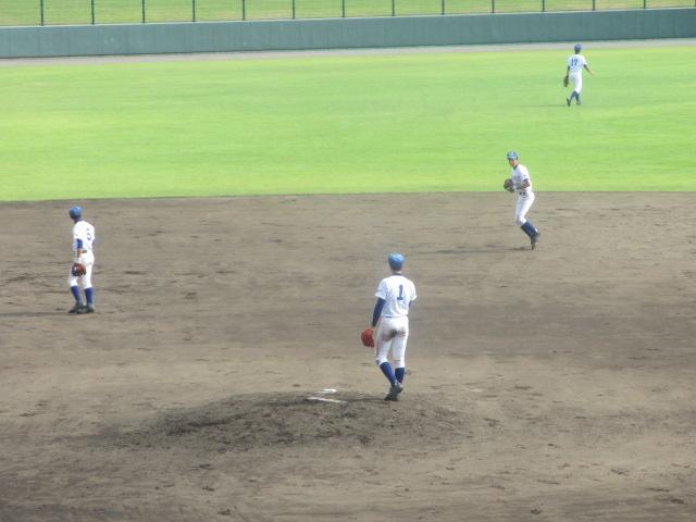 北信越高校野球石川県大会 三回戦 航空vs市工 232