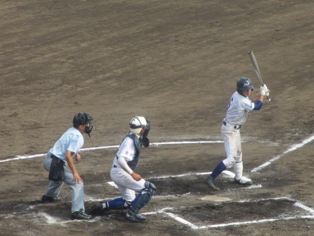 北信越高校野球石川県大会 三回戦 航空vs市工 242