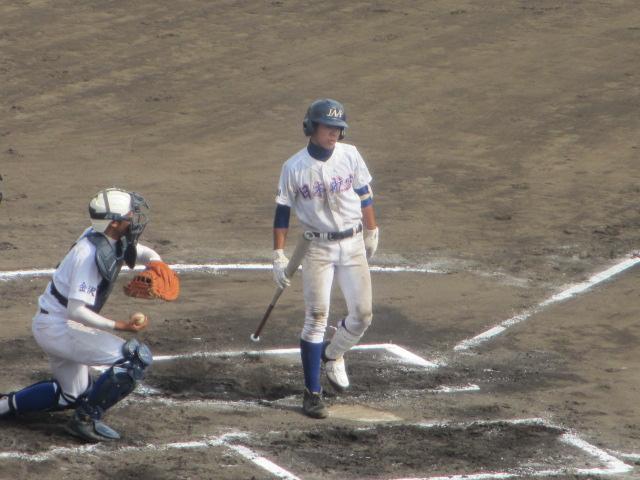 北信越高校野球石川県大会 三回戦 航空vs市工 241
