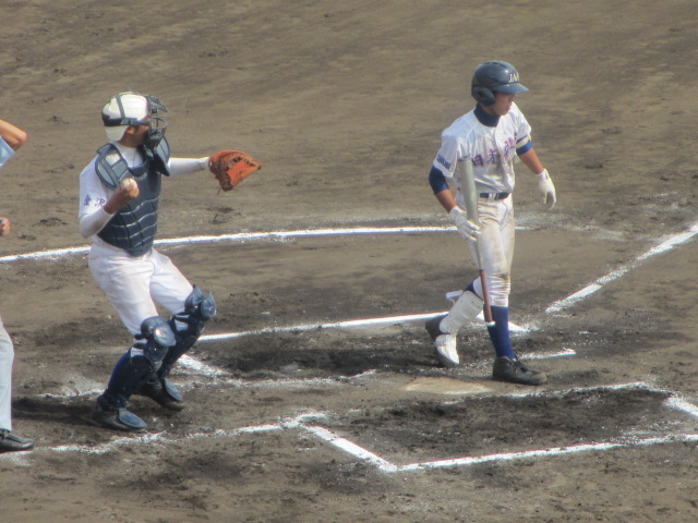 北信越高校野球石川県大会 三回戦 航空vs市工 240