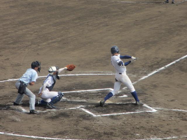 北信越高校野球石川県大会 三回戦 航空vs市工 238