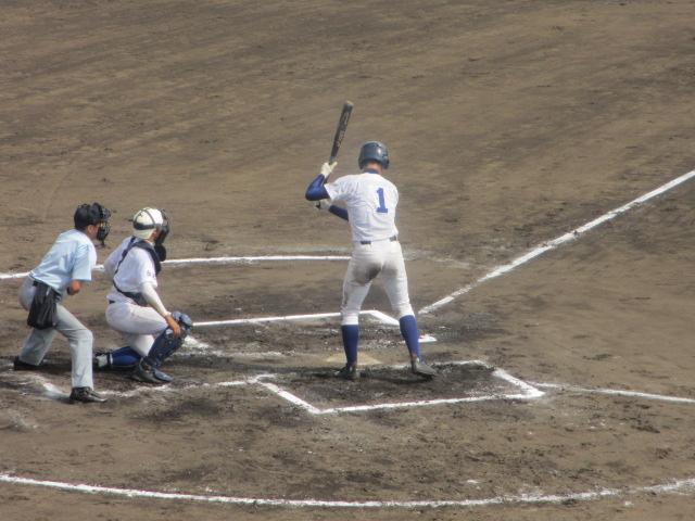 北信越高校野球石川県大会 三回戦 航空vs市工 237