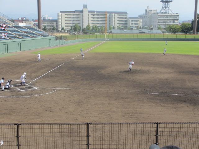 北信越高校野球石川県大会 三回戦 航空vs市工 248