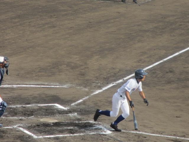 北信越高校野球石川県大会 三回戦 航空vs市工 246