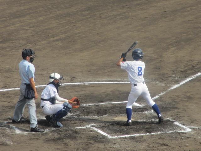 北信越高校野球石川県大会 三回戦 航空vs市工 243