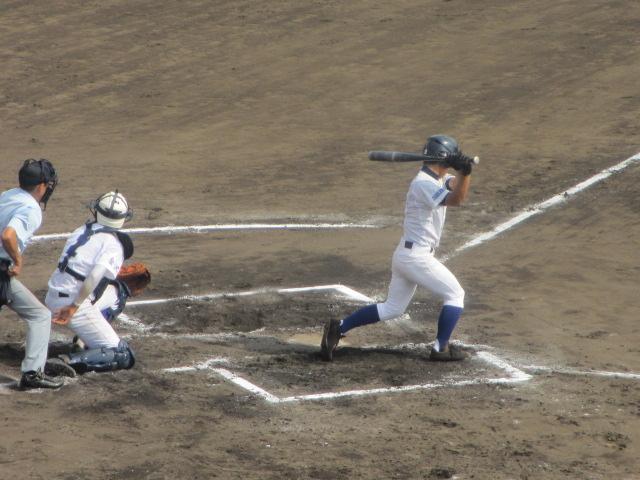 北信越高校野球石川県大会 三回戦 航空vs市工 244