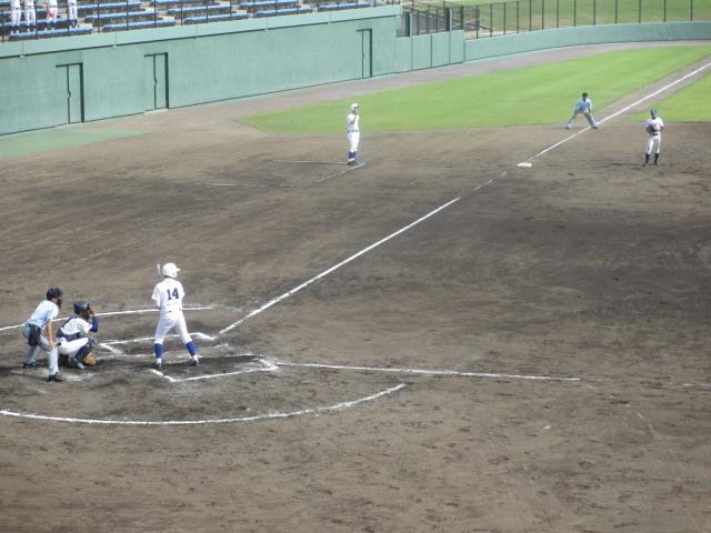 北信越高校野球石川県大会 三回戦 航空vs市工 252