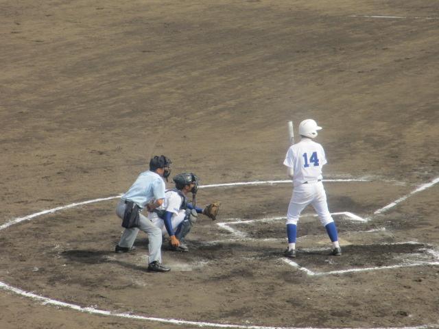 北信越高校野球石川県大会 三回戦 航空vs市工 251