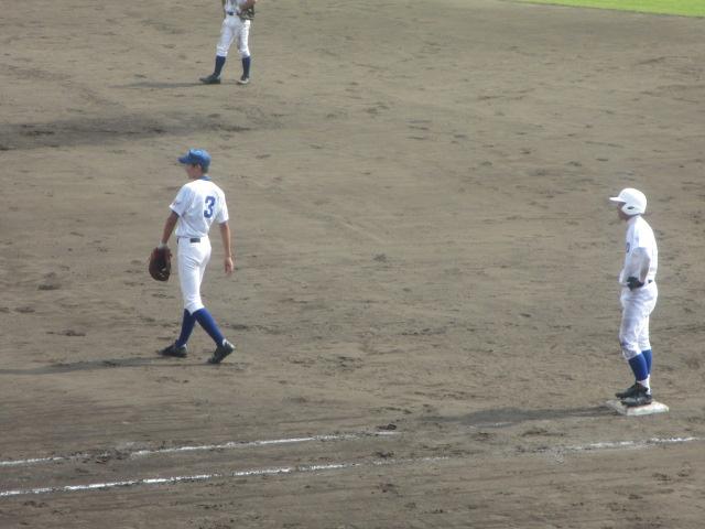 北信越高校野球石川県大会 三回戦 航空vs市工 249