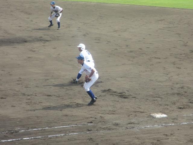 北信越高校野球石川県大会 三回戦 航空vs市工 250